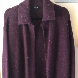 Worth New York long sweater/duster size large.
